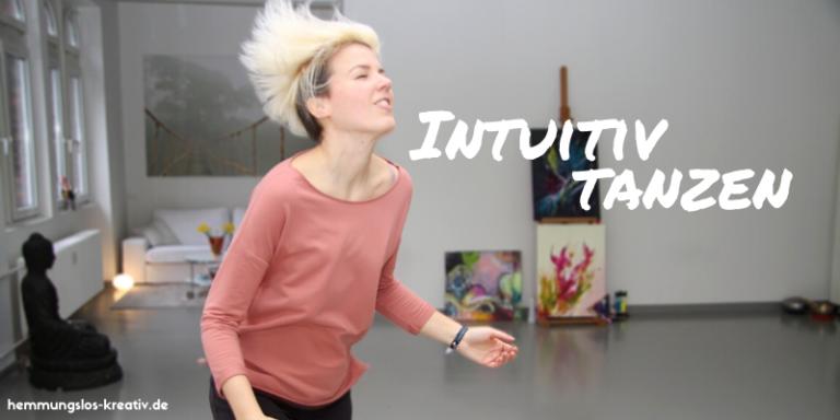 Intuitiv tanzende Frau